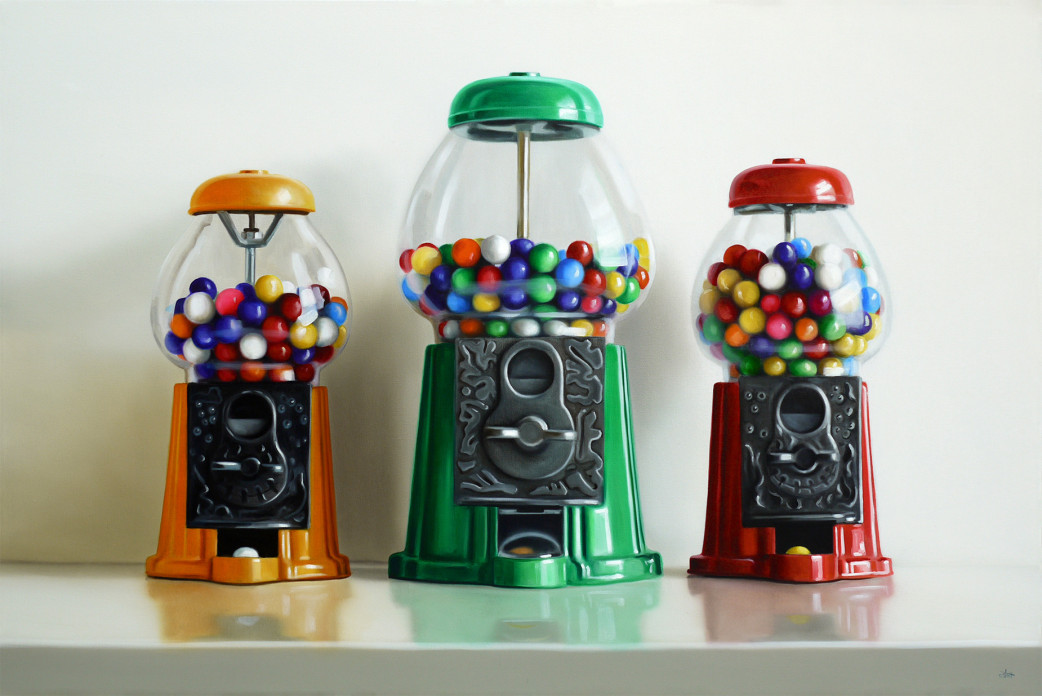Gumball Trio by Christopher Stott