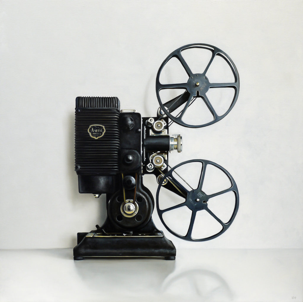 projector film 16mm ampro projectors stott christopher oil canvas