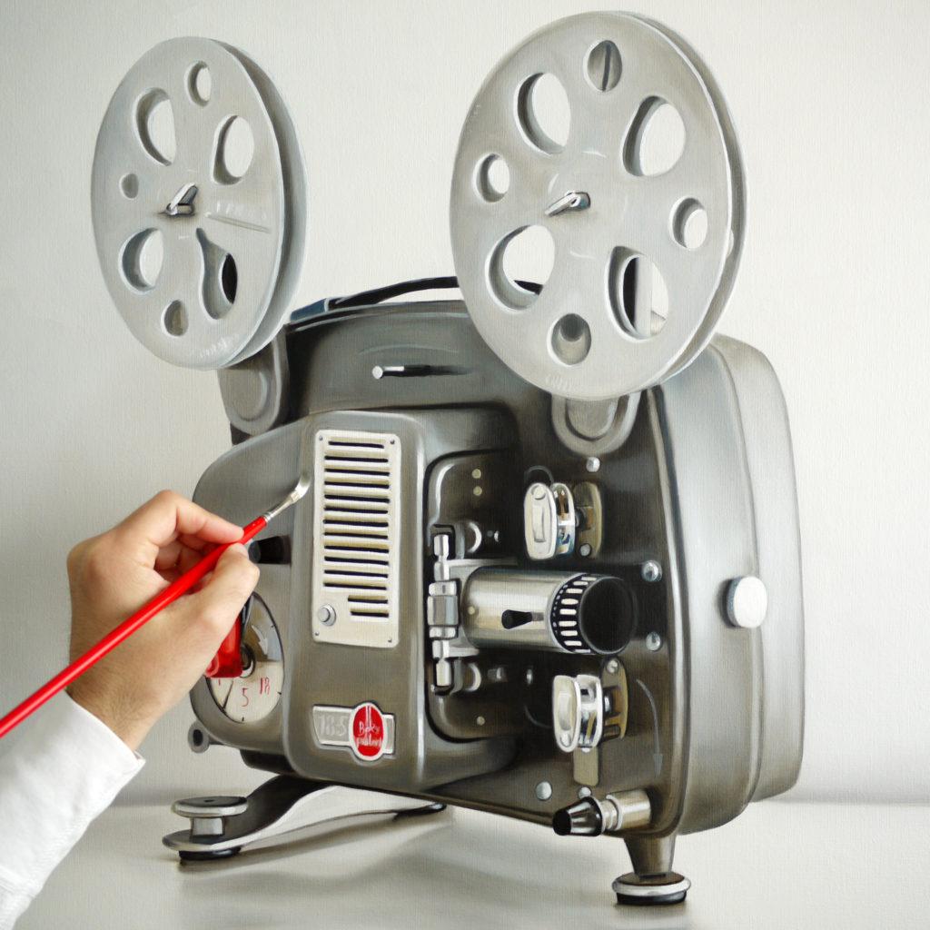 Work in Progress / Bolex Paillard 8MM Film Projector