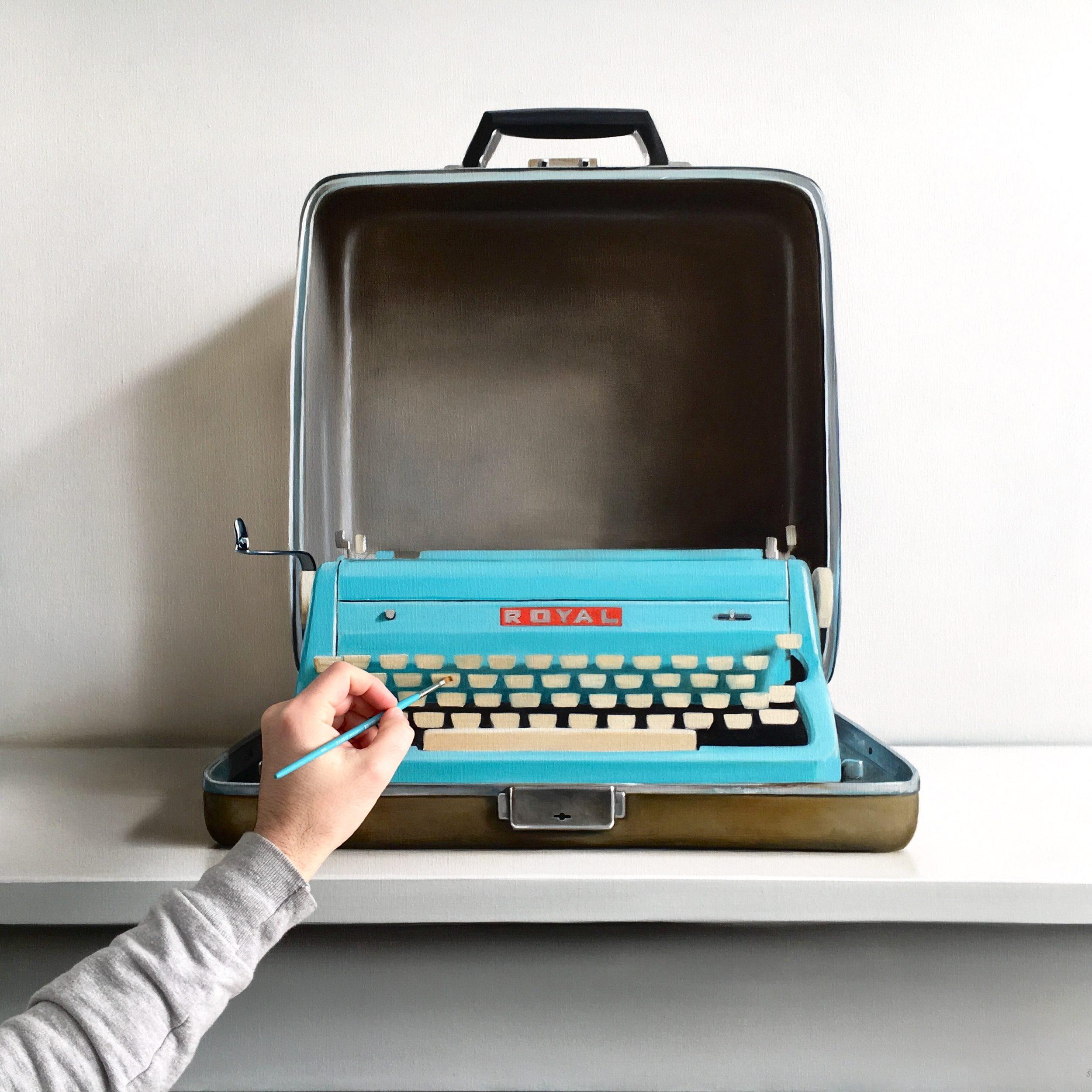 Royal Typewriter / Work in Progress by Christopher Stott